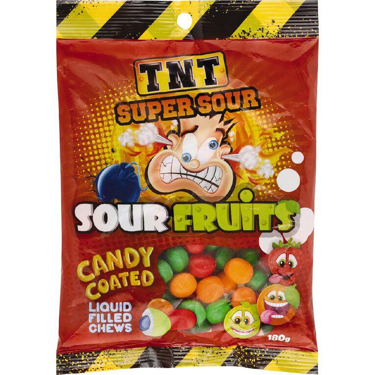 TNT Sour Fruits 180g, , hi-res