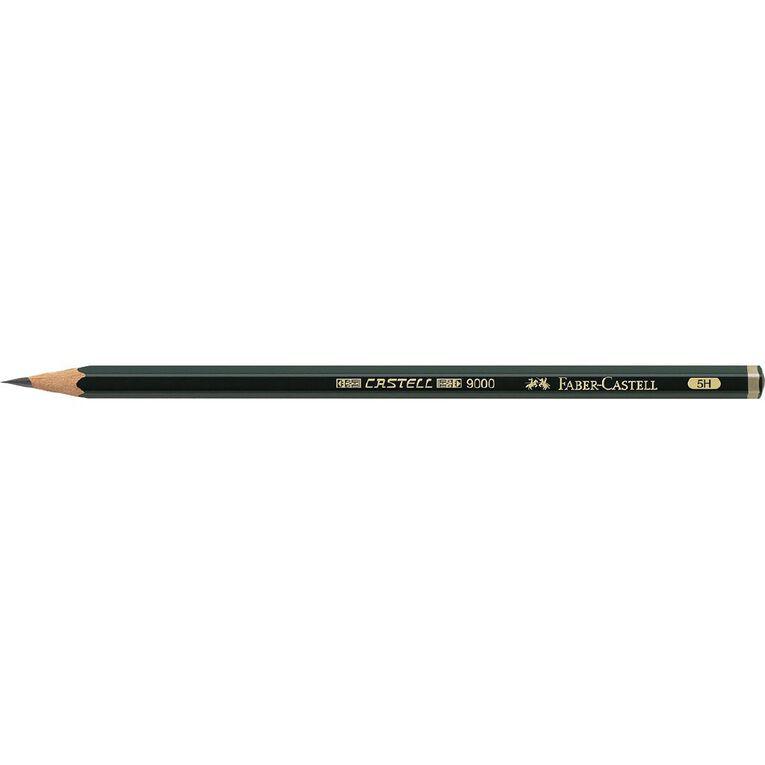 Faber-Castell Artist Pencil 9000 5H Black, , hi-res