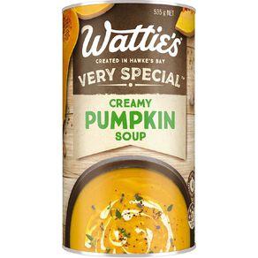 Wattie's Very Special Creamy Pumpkin Soup 535g