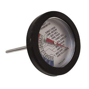 Gascraft BBQ Meat Temperature Gauge Black