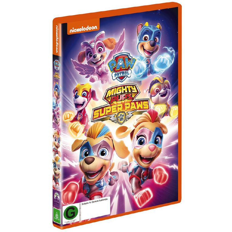 Paw Patrol Mighty Pups Super Paws DVD 1Disc, , hi-res