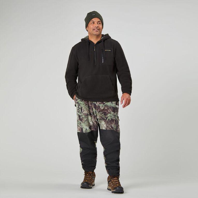 Back Country Solid Fleece Hooded Sweatshirt, Black, hi-res