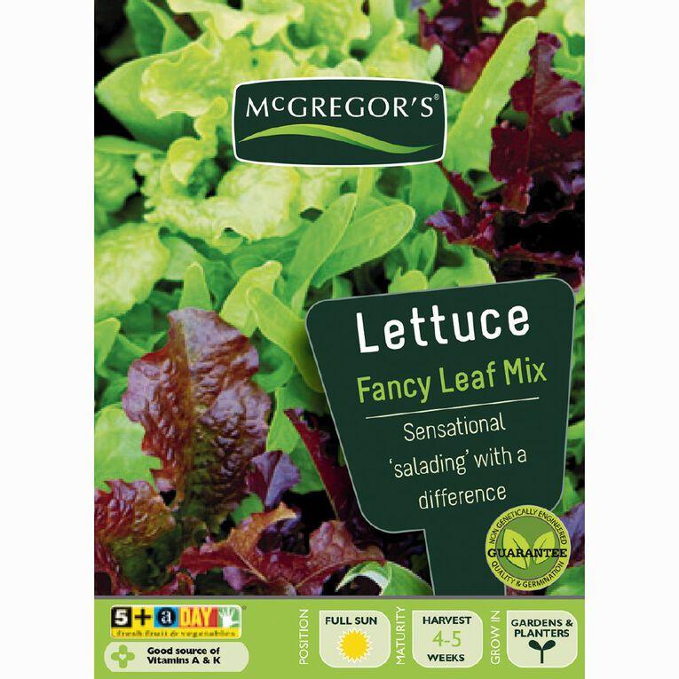 McGregor's Mixed Gourmet Blend Lettuce Vegetable Seeds, , hi-res