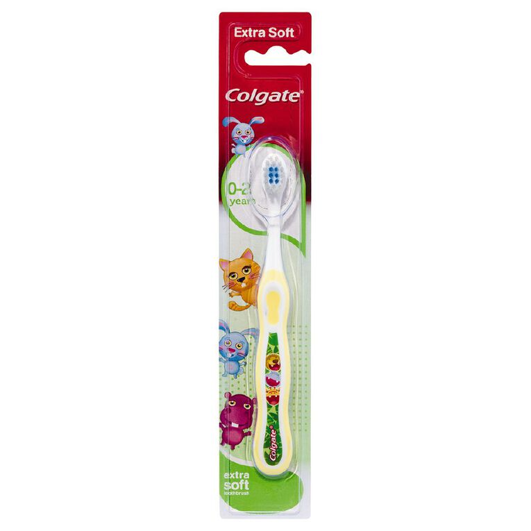 Colgate My First Toothbrush 0-2yrs Assorted, , hi-res