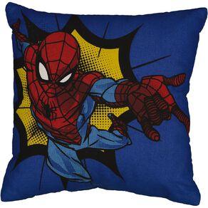 Spider-Man Cushion Boom Red 43cm x 43cm