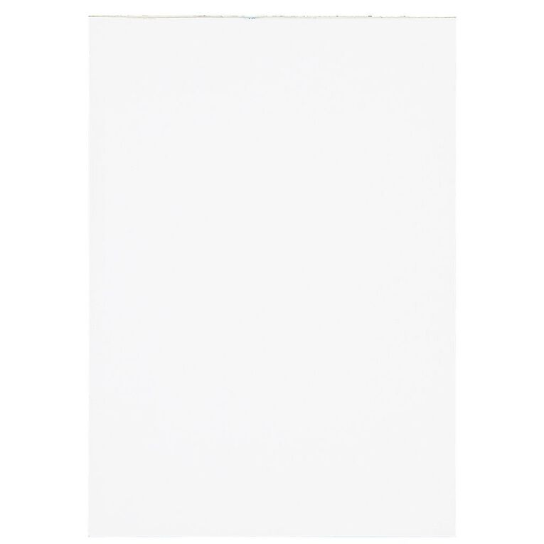 WS Unruled Pad 50 Sheets White A5, , hi-res
