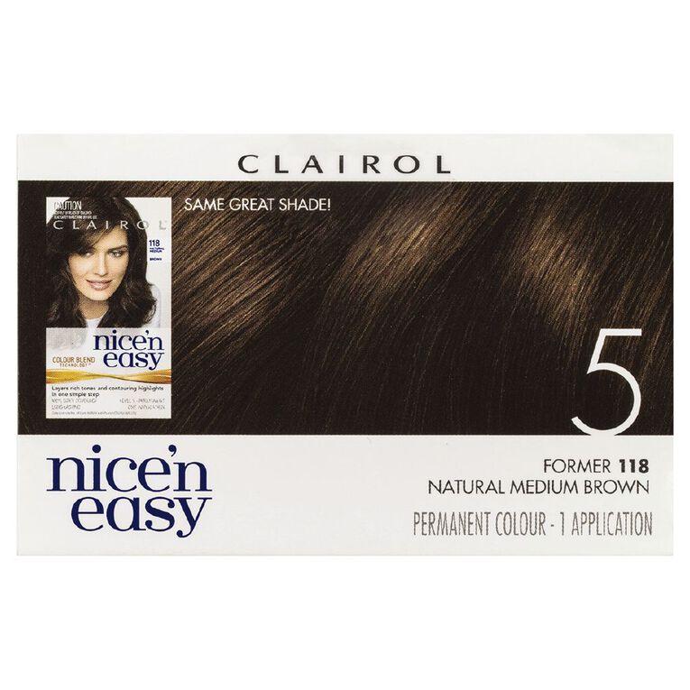 Nice 'n Easy Medium Brown 5 (former 118), , hi-res