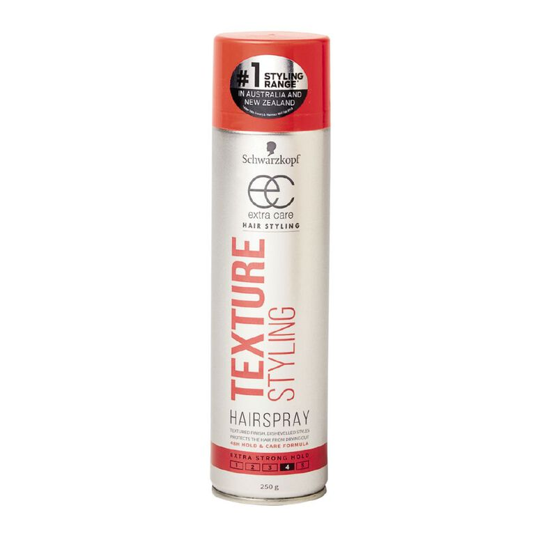 Schwarzkopf Extra Care Body & Texture Hairspray 250g, , hi-res