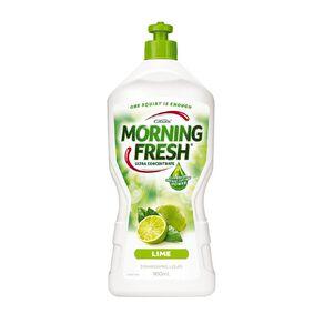 Morning Fresh Dishwash Liquid Lime 900ml