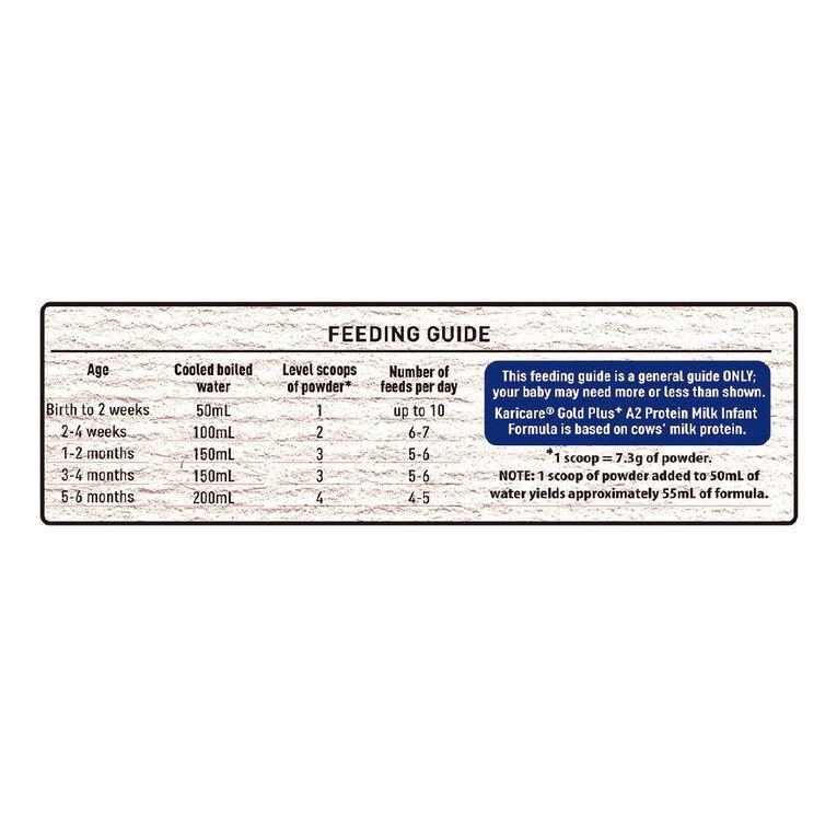Karicare Gold+ A2 Protein Milk Infant Formula Stage 1 900g 900g, , hi-res image number null