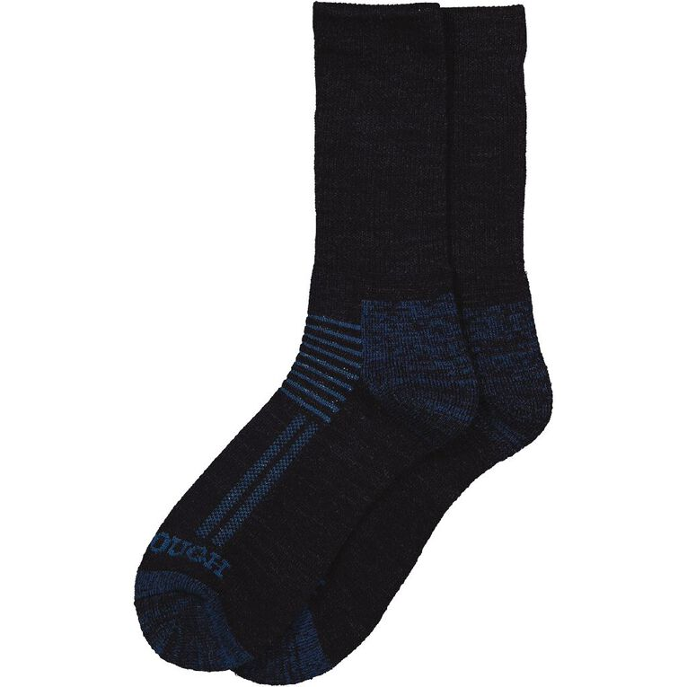 Darn Tough Men's Crew Reinforce Wool Socks 2 Pack, Navy, hi-res