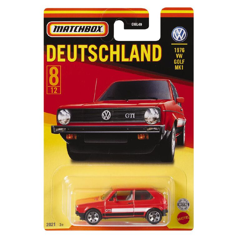 Matchbox Best of Germany Collector Assorted, , hi-res