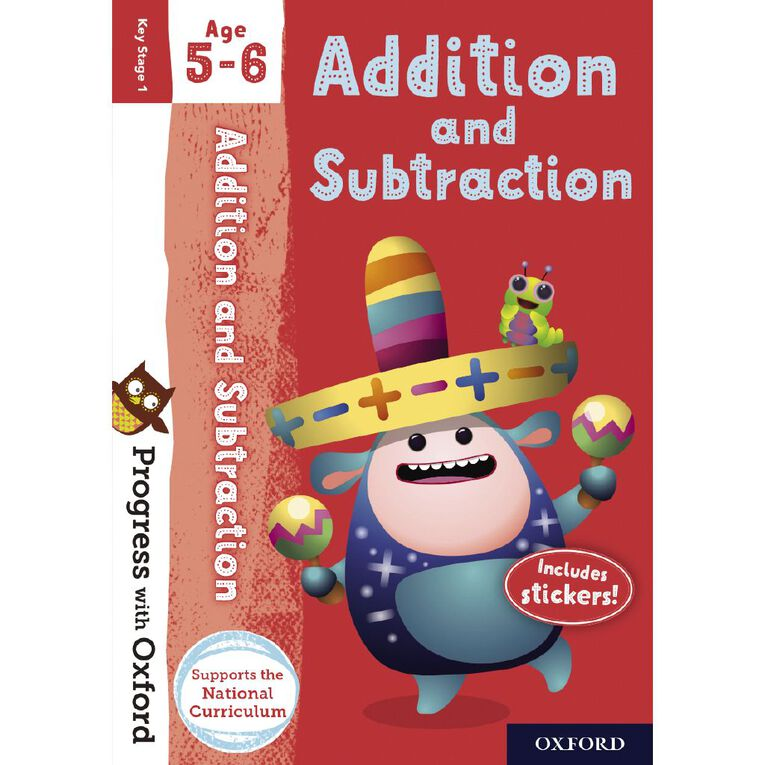 Addition and Subtraction Age 5-6 by Oxford University Press, , hi-res