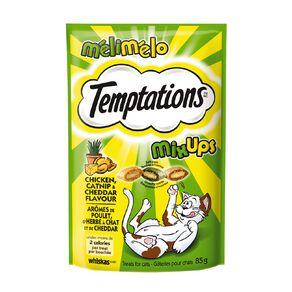 Whiskas Temptations Mixups Chicken Catnip & Cheddar Flavours 85g