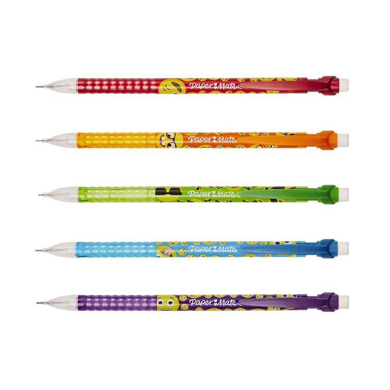 Paper Mate Write Bros Fun 0.7mm Mechanical Pencil Black 5 Pack, , hi-res