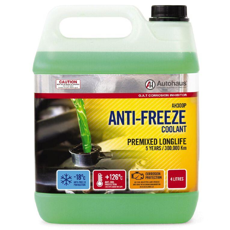 Autohaus Pre-Mixed Antifreeze Coolant 4L, , hi-res