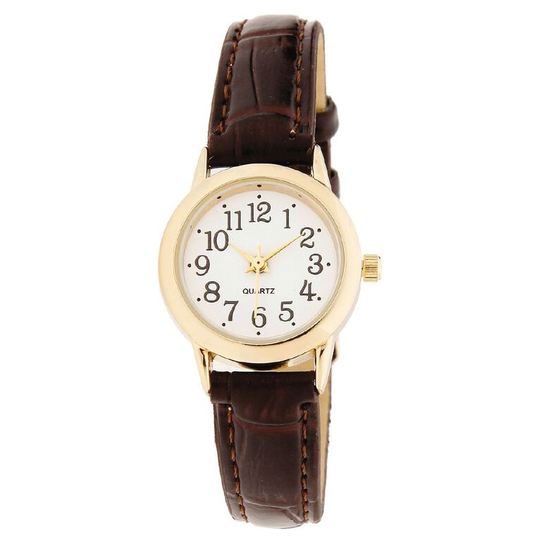 Eternity Women Classic Analogue Watch Brown, , hi-res