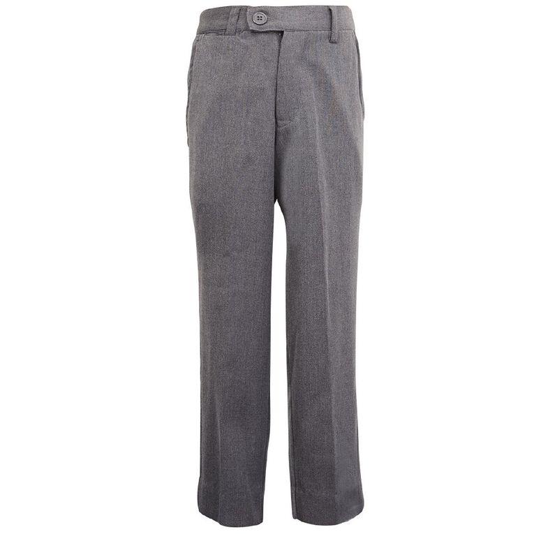 Schooltex Boys' School Trousers, New Grey, hi-res