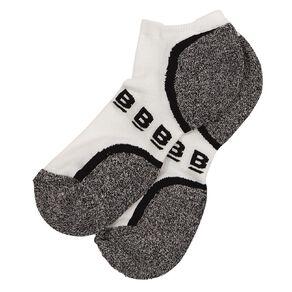 B FOR BONDS Men's Active Low Cut Socks 2 Pack