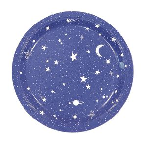 Party Inc Star Paper Plates 23cm 8 Pack