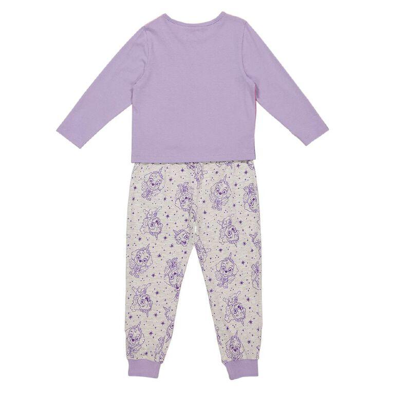Paw Patrol Girls' Knit Pyjamas, Pink Light, hi-res