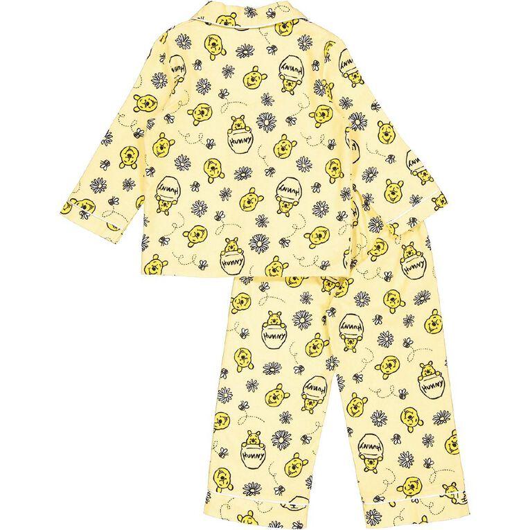 Winnie the Pooh Kids' Flannelette Pyjamas, Yellow, hi-res
