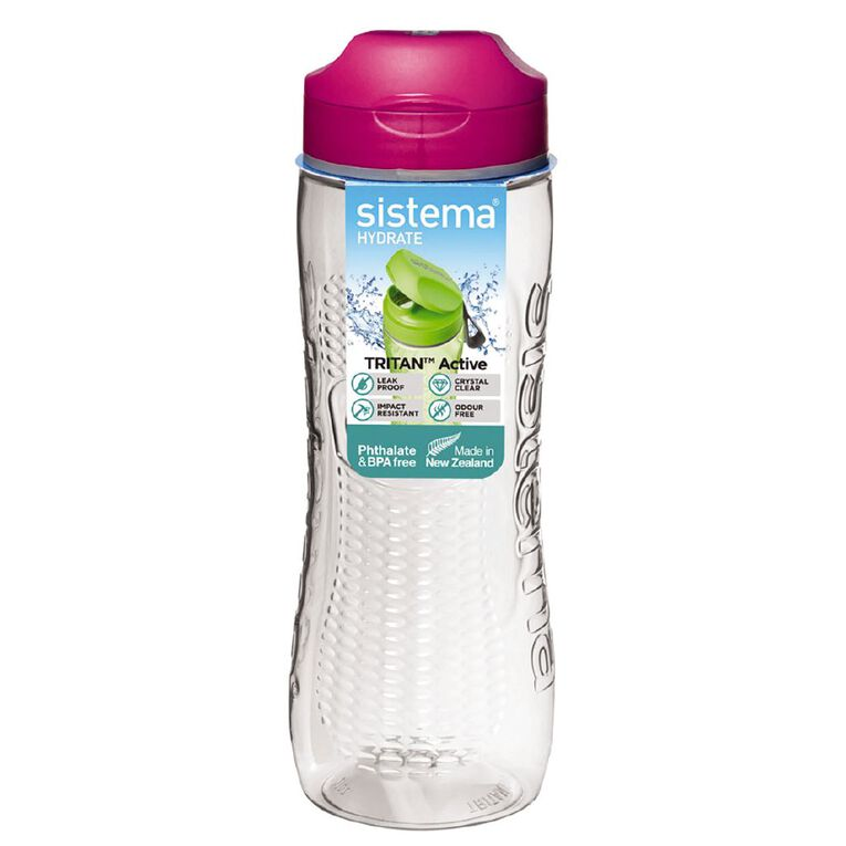 Sistema Tritan Active Bottle Assorted 800ml, , hi-res