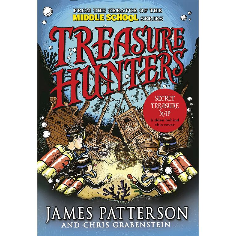 Treasure Hunters #1 by James Patterson N/A, , hi-res
