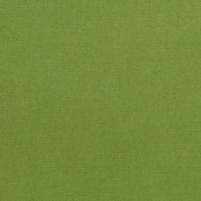 American Crafts Cardstock Textured Spinach Green 12in x 12in, , hi-res image number null