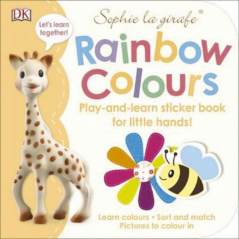 Sophie La Girafe: Sophie's Rainbow Colours, , hi-res