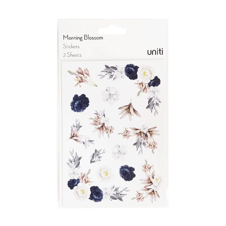 Uniti Morning Blossom Sticker Sheets 2 Sheets, , hi-res