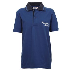 Schooltex Papatoetoe North Short Sleeve Polo with Embroidery