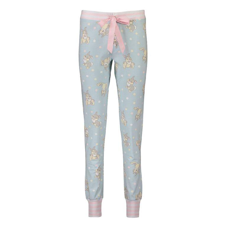 Disney Thumper Women's Stretch Pyjama Pants, Blue Mid, hi-res