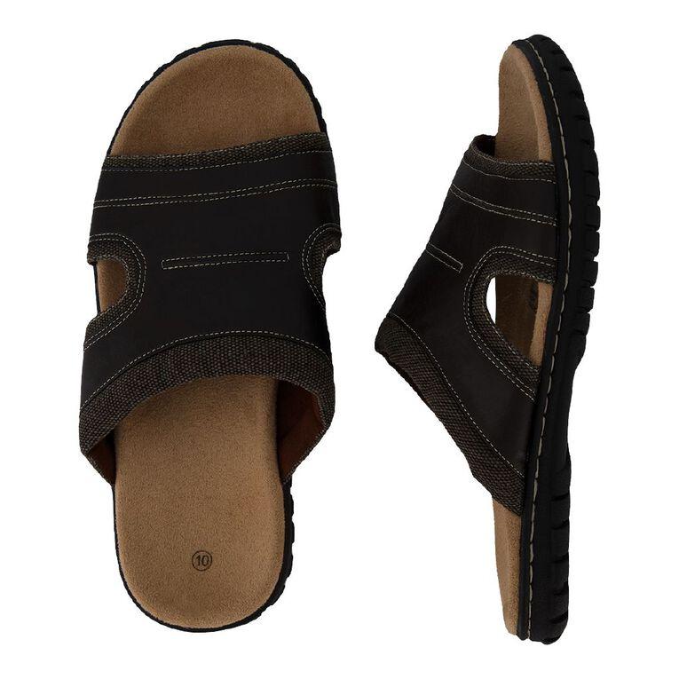 H&H Men's Shay Sandals, Brown Dark, hi-res image number null