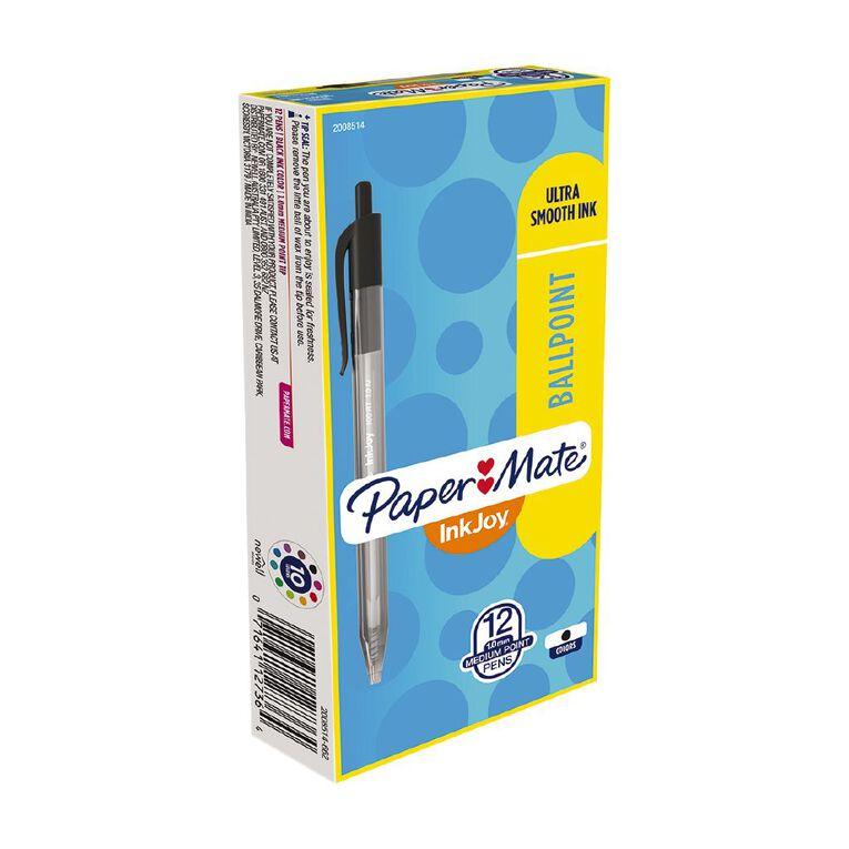 Paper Mate Inkjoy 100RT Black 12 Pack, , hi-res