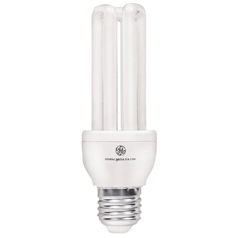 General Electric CFL Ultra E27 Light Bulb 15w Warm White 2 Pack, , hi-res