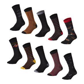 H&H Men's Crew Socks 10 Pack