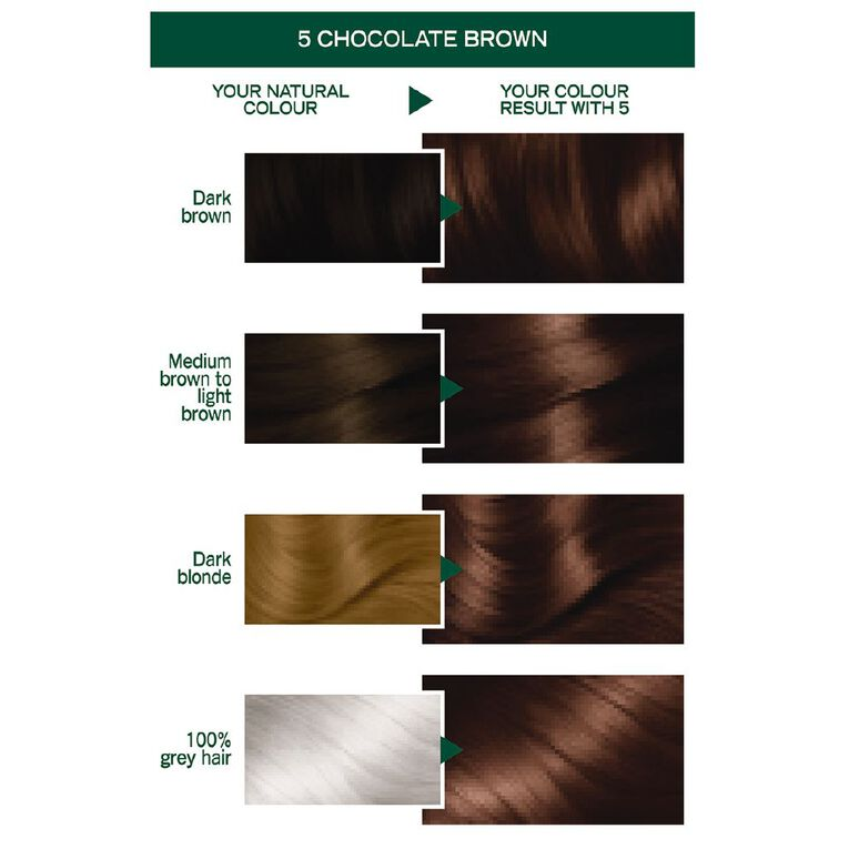 Garnier Nutrisse Permanent Creme Chocolate Brown 5, , hi-res