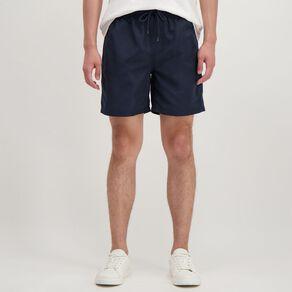 H&H Men's Plain Microfibre Board Shorts