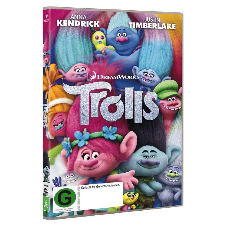 Trolls DVD 1Disc, , hi-res