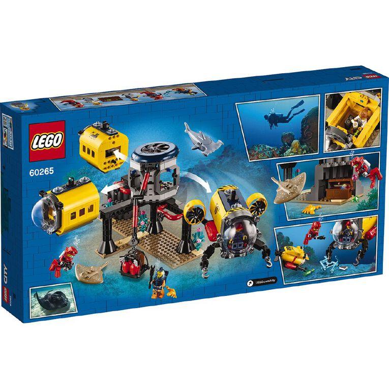 LEGO City Ocean Exploration Base 60265, , hi-res