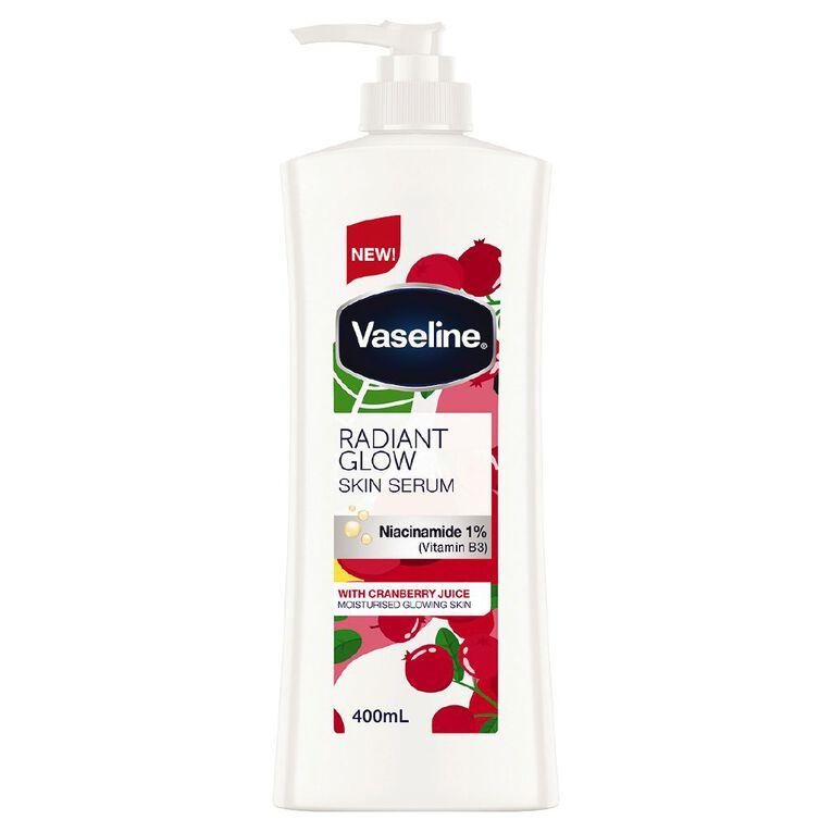 Vaseline Skin Serum Radiant Glow 400ml, , hi-res