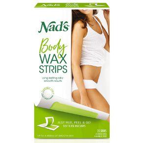 Nads Body Wax Strips 20 Pack