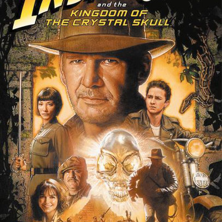 Indiana Jones And The Kingdom Of The Crystal Skull DVD 1Disc, , hi-res