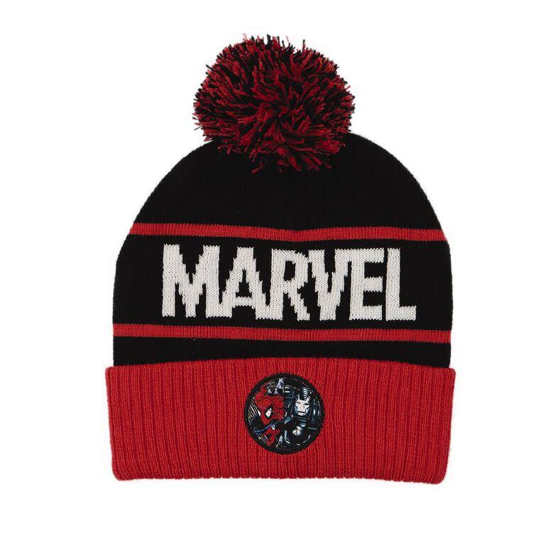 Marvel Kids' Beanie, Red, hi-res