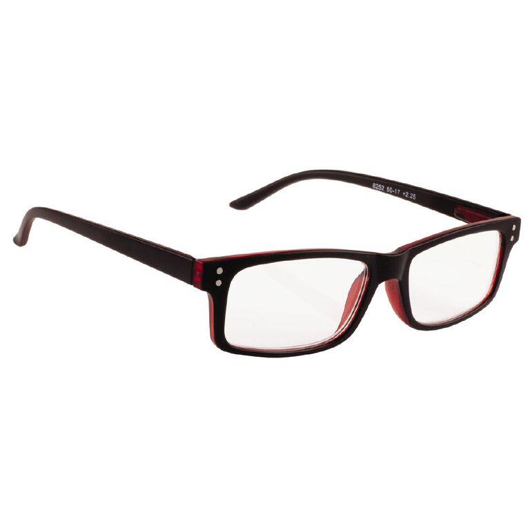 Focus Reading Glasses Men's Suave Power 2.25, , hi-res