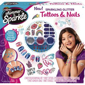 Shimmer n Sparkle Nail & Body Tattoos