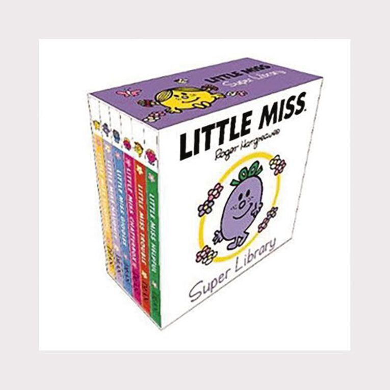 Little Miss Super Library by Roger Hargreaves, , hi-res