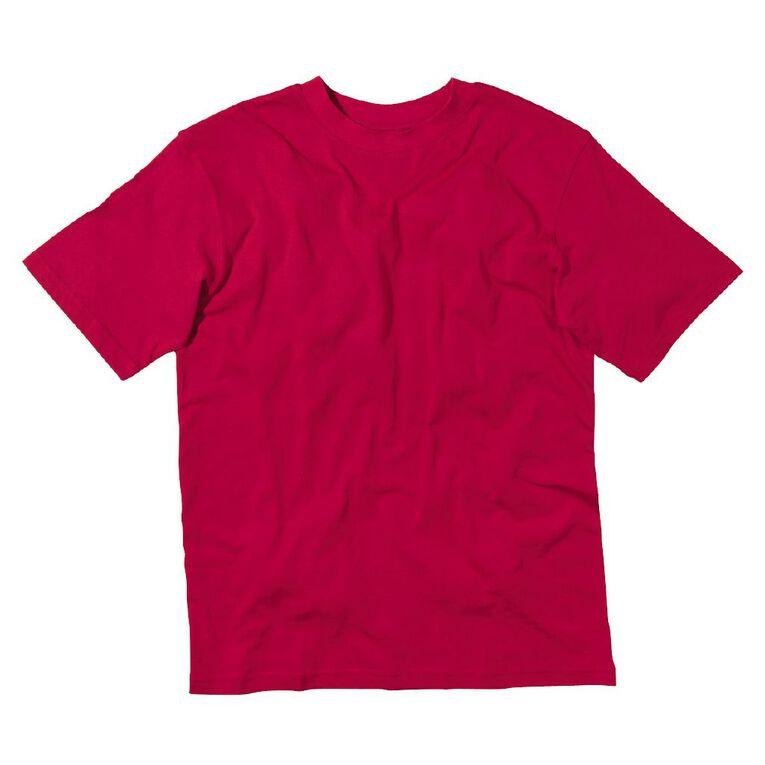 Schooltex Kids' Tee, Red, hi-res