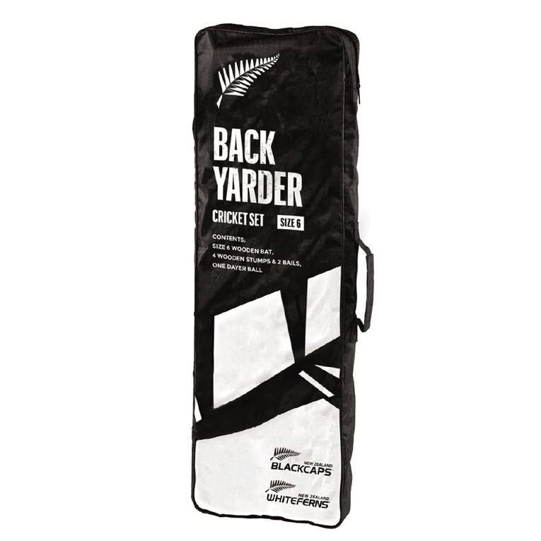 Black Caps Backyarder Set Size 6, , hi-res